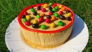 Потрясающий Карамельный торт без выпечки и духовки Простой и быстрый рецепт Пальчики оближешь