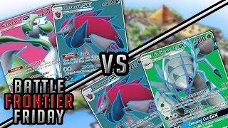 Zoroark/Gardevoir vs Zoroark/Golisopod Pokemon TCG Matchup | Battle Frontier Friday #47