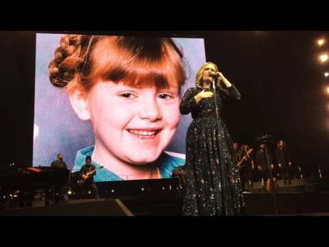 Adele - When We Were Young (Live in Dublin 04-03-16)