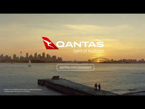 Qantas Passport Take-Off