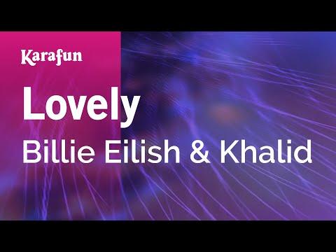 Lovely - Billie Eilish & Khalid | Karaoke Version | KaraFun
