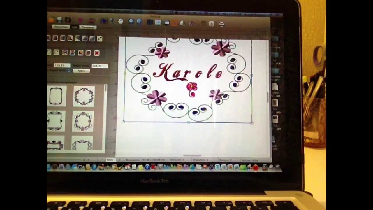 Macbroidery Software Review Youtube