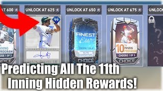 What To Expect From Hidden 11th Inning Program Rewards! OMG! MLB The Show 19 Diamond Dynasty