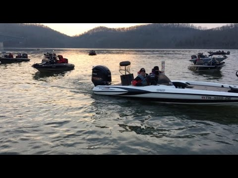 Netminders center hill march 21 2015 youtube for Center hill lake fishing report