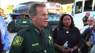 WATCH: Broward Co.Sheriff speaks on Fla. school shooting