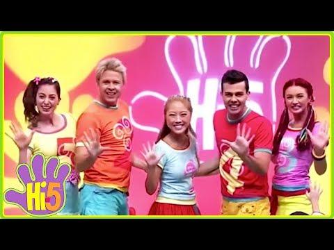 Hi-5 Songs   Give Five & More Kids Songs - Hi5 Songs of the Week Season 15