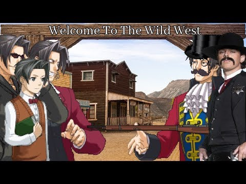 Turnabout Time 2: Welcome To The Wild West || Ace Attorney Stories