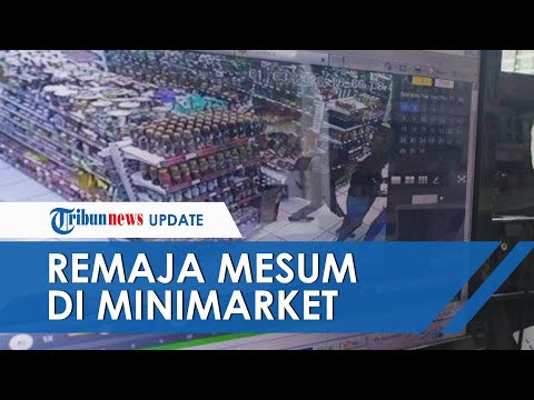 Kronologi Remaja Mesum di Minimarket Bandung Terekam CCTV yang Viral