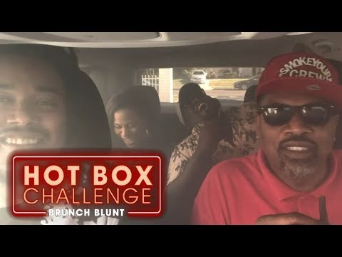 The Hot Box Challenge  - All-Stars Challenge ft.Teddy Ray | Brunch Blunt