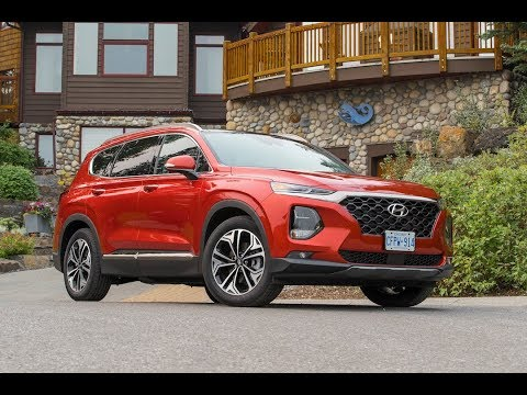 NEW 2019 Hyundai Santa Fe Review