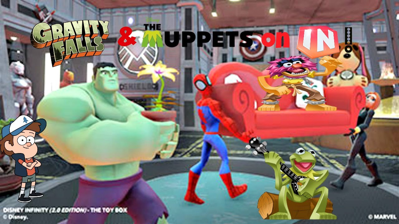 Disney Infinity Gravity Falls Amp Muppets On Disney Infinity Youtube