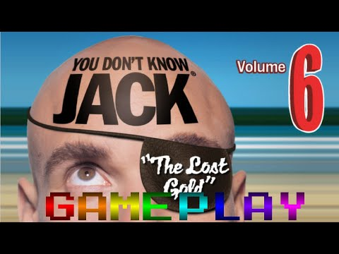 YOU DON'T KNOW JACK Vol. 6 The Lost Gold 2003 Windows Gameplay  