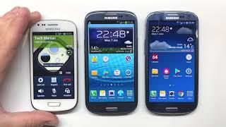 Samsung Galaxy S3, S3 mini & S3 Neo Incoming Call Comparison  Over the Horizon Ringtones