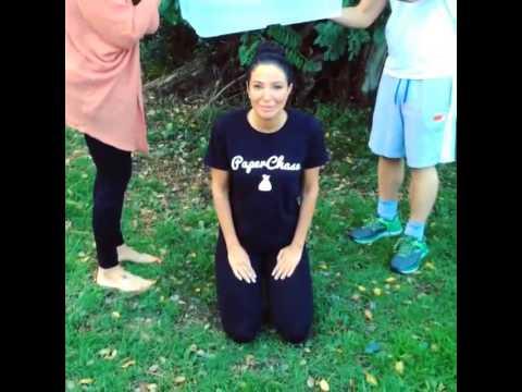 Tulisa Contostavlos ALS Ice Bucket Challenge
