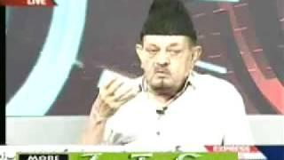 "Ahmadiyya Sahibzada Mirza Ghulam Ahmad Sahib in Express News ""Point Blank"" 2 June 2010 part-2"