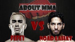 Godofredo Pepey vs Noad Lahat - Pepey vence com uma incrível joelhada voadora e surpreende.