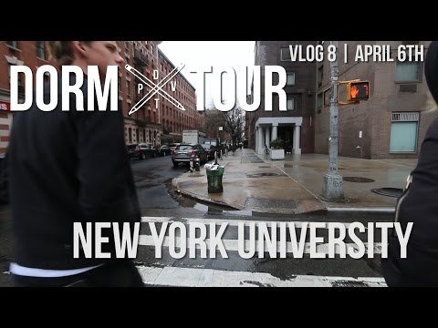 DORM TOUR VLOG | New York University
