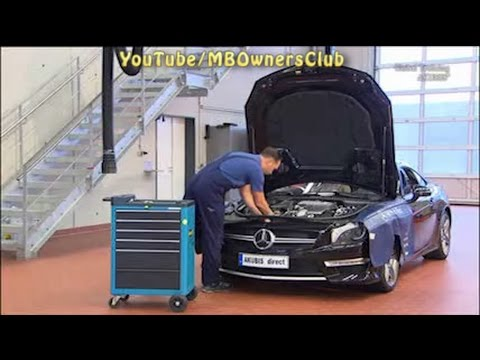 Mercedes Benz SL | Installation of check valve on hydraulic chain tensioner  (M157, M276 and M278)