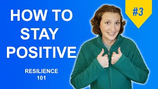 How to Eliminate Negative Thoughts and Think Positively // Affirmations // Resilience 101 - #3