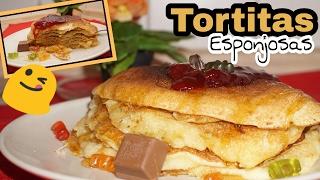 TORTITAS ESPONJOSAS PARA SAN VALENTÍN