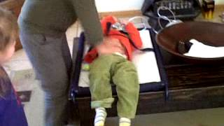 Kids playing doctor doctor and ambulance with younger brother - Part 1