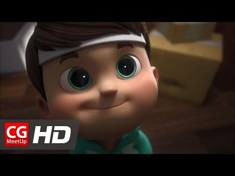 "CGI Animated Short HD: ""Quest for Glory Euro Cup 2016"" by Ember Lab"