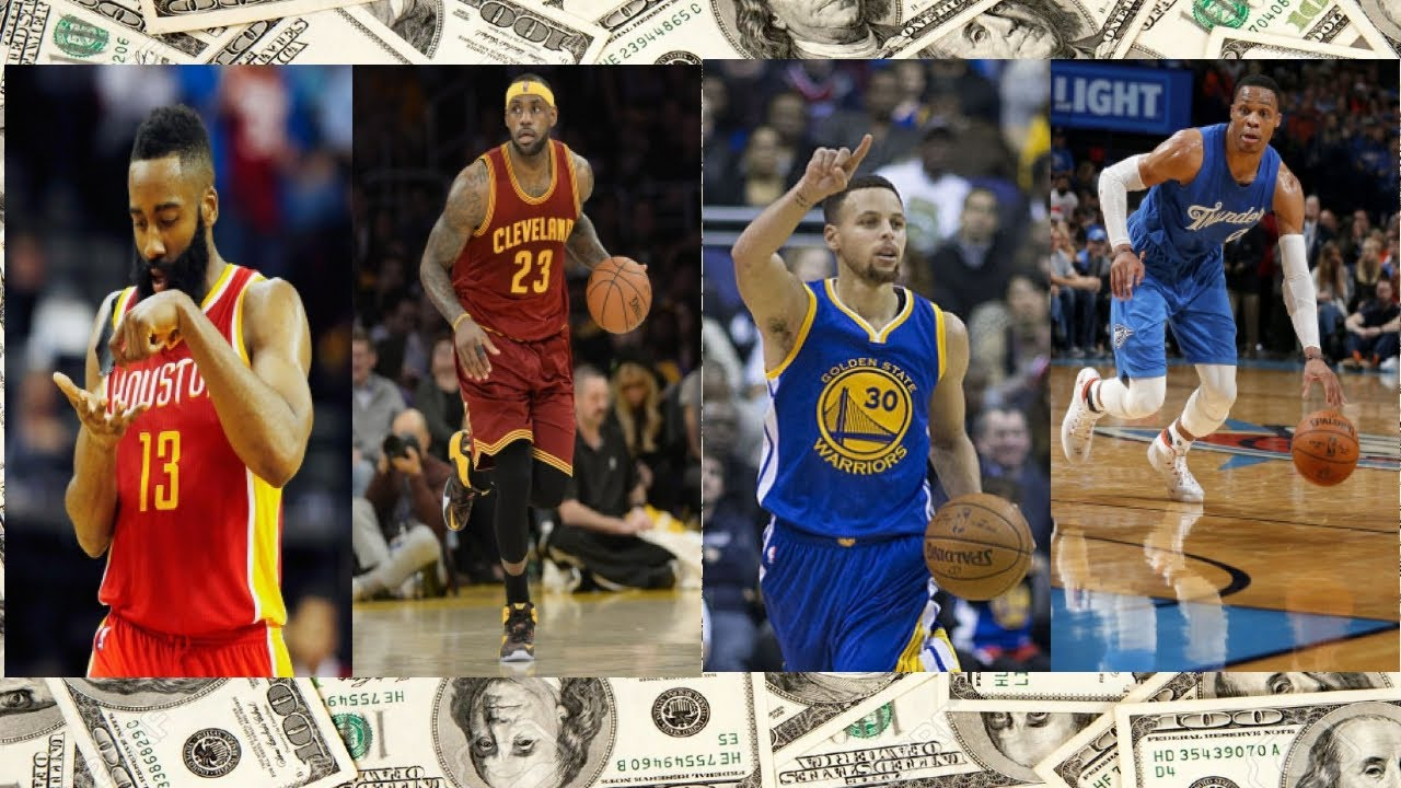 Top 10 nba players 2017 in order - Top 10 Highest Paid Nba Players 2017 2018