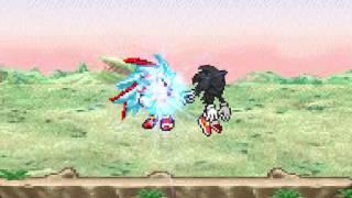 Shadic fase 3 vs Dark Sonic