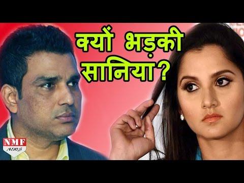 Twitter पर भिड़े Sania Mirza और Sanjay Manjerkar