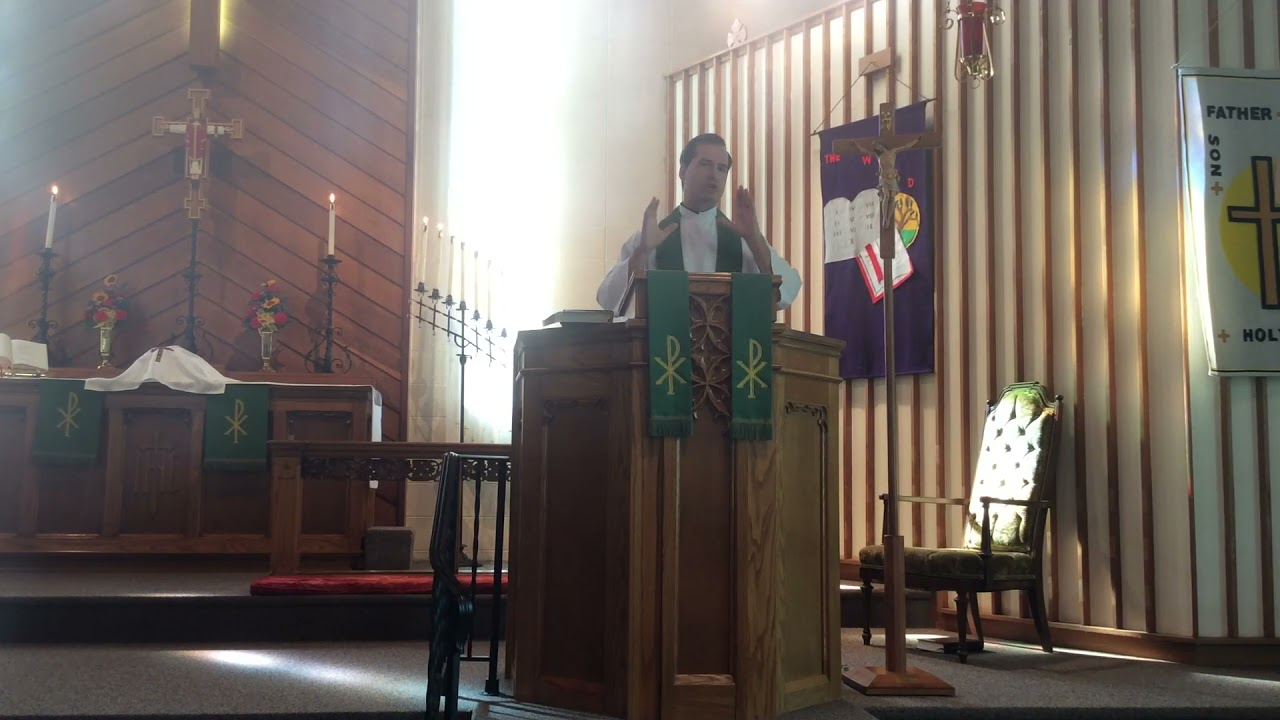 The Twelfth Sunday After Pentecost Christ Lutheran Church