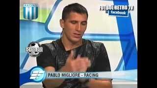 Pablo Migliore Arquero de Racing 2009 Estudio Futbol