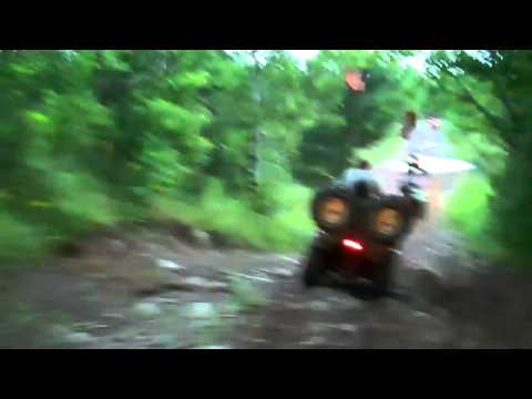 "2010  Hurley Wisconsin ATV. ""It is going to come down"" Chris"