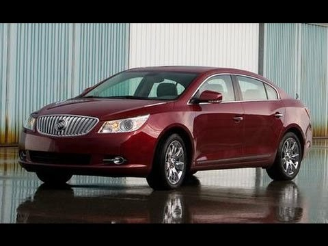2010 Buick Lacrosse Cxs Car And Driver