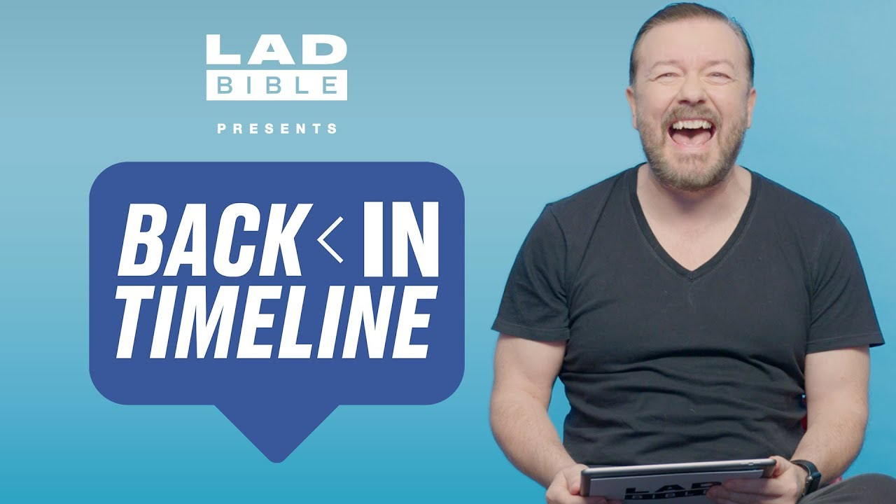 After Life's Ricky Gervais Is Quizzed On His Social Media In Back In Timeline