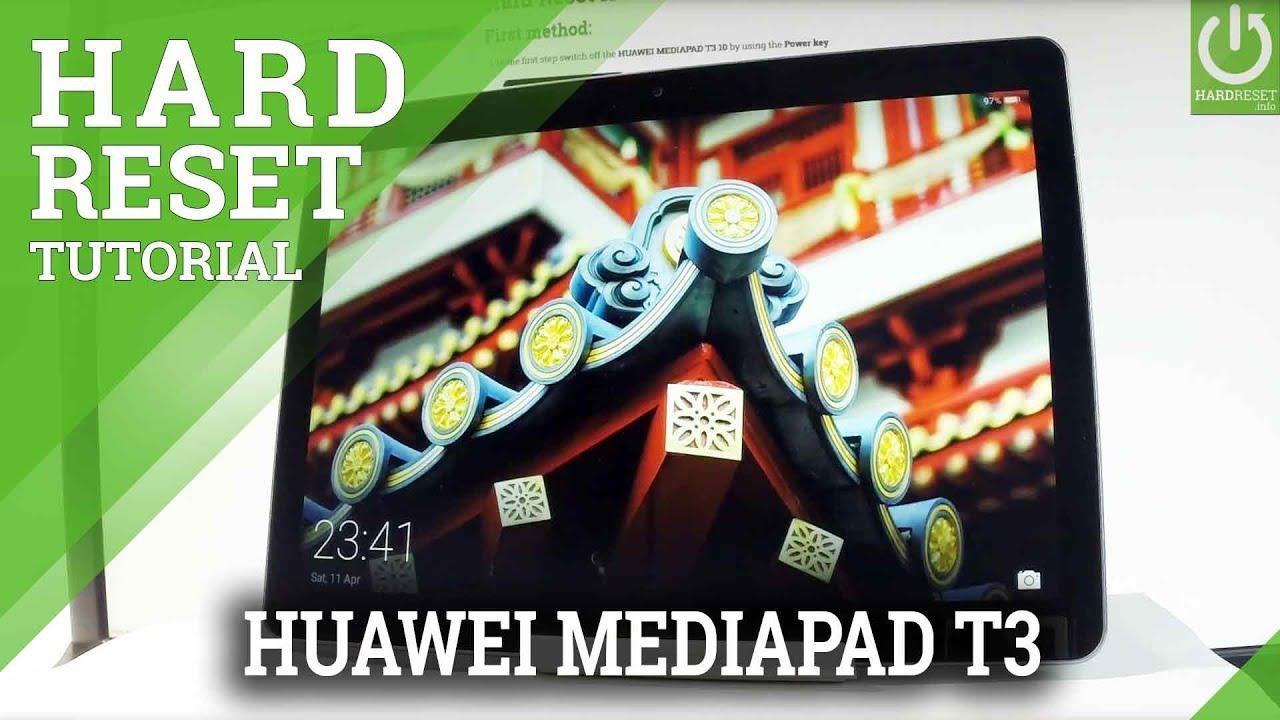 Hard Reset HUAWEI MediaPad T3 10 - HardReset info