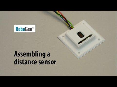 RoboGen™ IR Distance Sensor Assembling and Soldering
