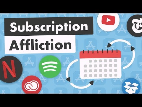 Subscription Affliction - Everything is $10/month