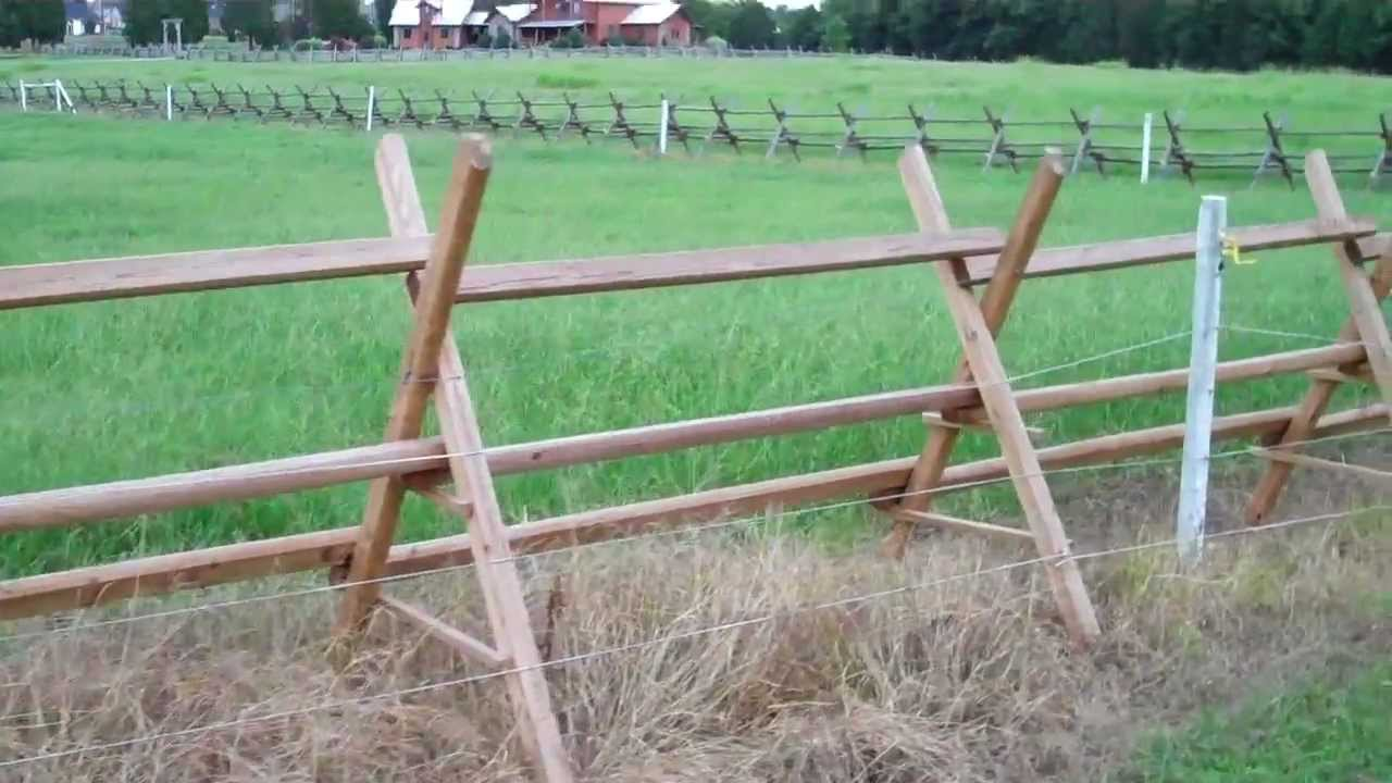 Tennessee buck fence youtube
