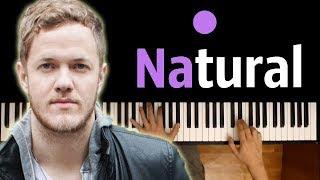 IMAGINE DRAGONS - NATURAL ● karaoke   PIANO_KARAOKE ● ᴴᴰ + SHEETS & MIDI Video