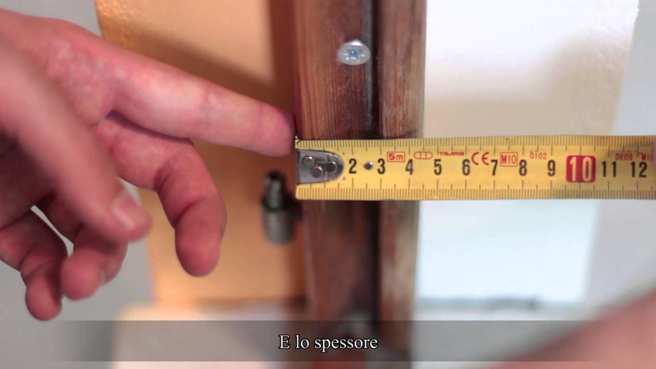 Mywindiy misurazione fai da te come si misura una for Infissi fai da te