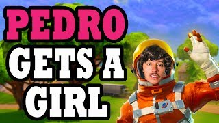 Meet Pedro | Hilarious Duo Encounter with Crazy Fan | Fortnite Battle Royale