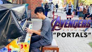 Portals - Avengers Endgame (Piano Street Performance)