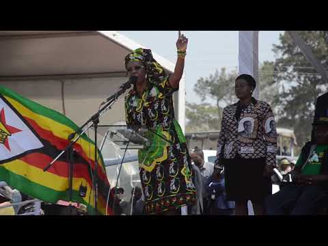 First lady GRACE MUGABE'S SPEECH IN GWERU #263Chat