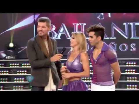 Tras el video íntimo, Cinthia Fernández apareció con sus hijas en la pista de ShowMatch