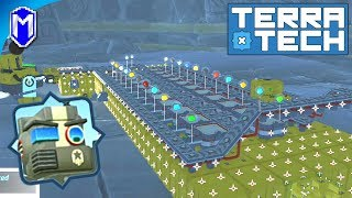TerraTech - Building Storage For Our Base, Building Our New Base - Let's Play/Gameplay 2020