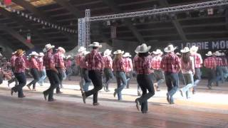 Brotherhood line dance - Voghera Country Festival 2011