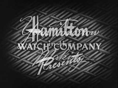 Your Tomorrow In The Making Today - Vintage Hamilton Watch Company Clip