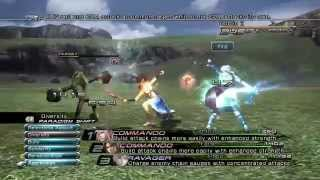 Final Fantasy XIII PC 1080p Gameplay