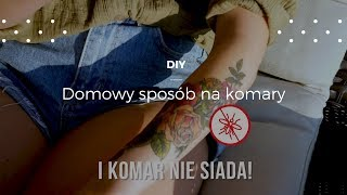 Domowy spray na komary #diy #poradnik