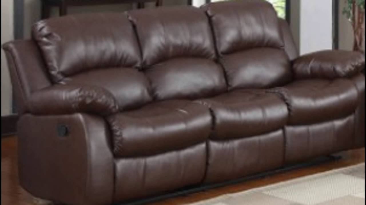 real leather sofa YouTube